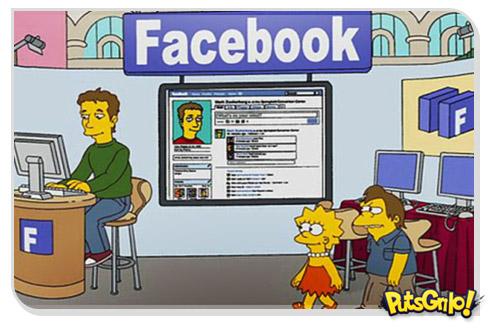 Jogo Os Simpsons para Facebook
