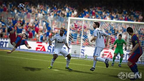 Jogo Fifa 12: Imagens divulgadas