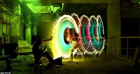 Fotos incríveis de pinturas de luz [Light Graffiti]