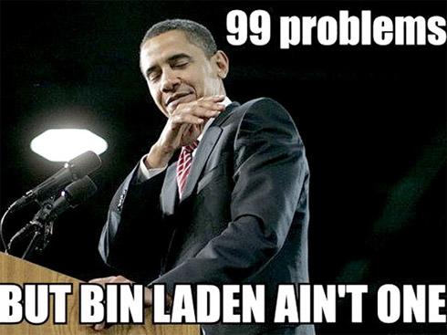 Obama x Osama: Montagens com o presidente dos Estados Unidos