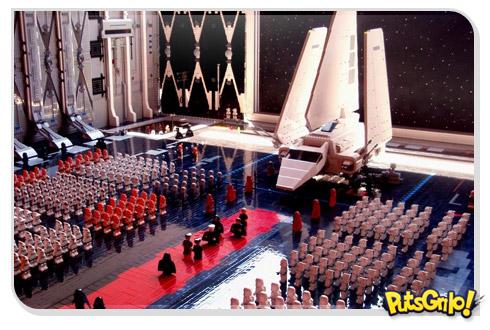 Miniatura do Exército de Darth Vader em Lego