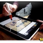 Scribbly pincel para ipad e tablets