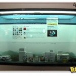 Tela Touch-Screen Transparente da Samsung