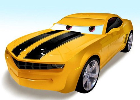 carros cinema 3 Carros famosos do cinema em versões Pixar