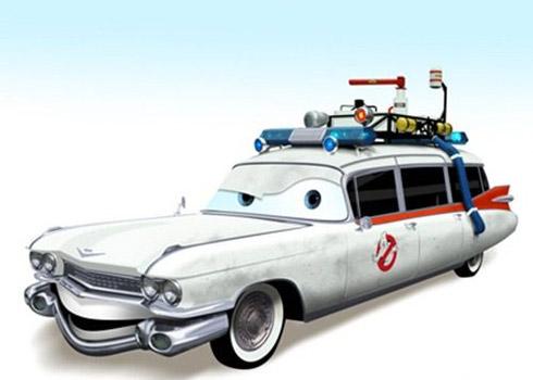 carros cinema 4 Carros famosos do cinema em versões Pixar