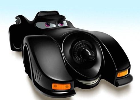 carros cinema 8 Carros famosos do cinema em versões Pixar
