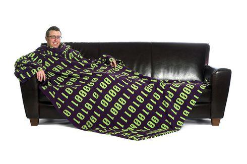 cobertor com mangas