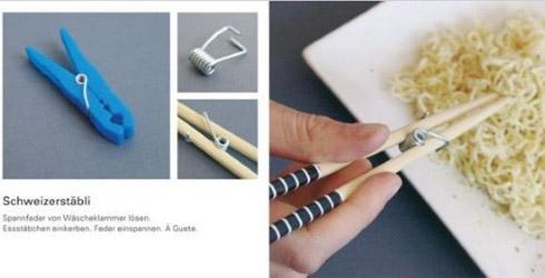 Utensílios e objetos criativos para o dia-a-dia