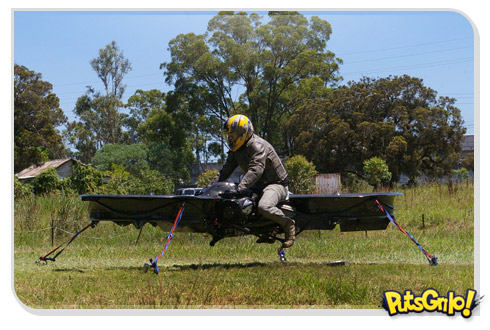 Hoverbike: A incrível moto voadora