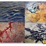 Fotos de paisagens da Terra vistas do espaço
