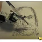 Robô faz desenhos incríveis