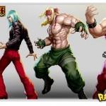 Personagens de Street Fighter em ilustrações de Stanley Lau