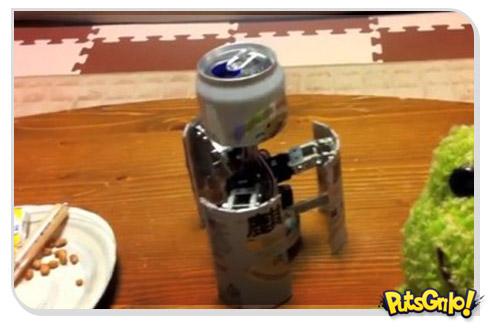 Lata de cerveja Transformer