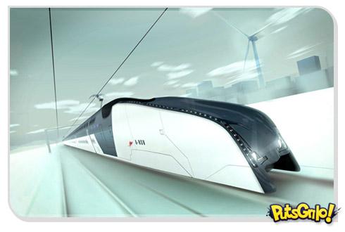 A-HSV: O super trem de alta velocidade da Austrália
