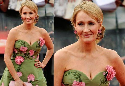 J.K Rowling, a autora da saga