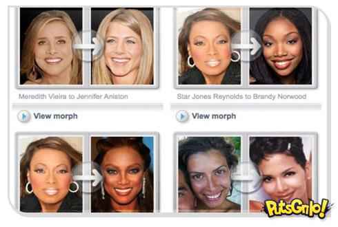 Site compara fotos de celebridades com pessoas comuns