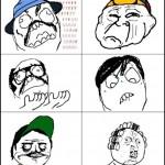 Personagens do Chaves em versão memes da internet