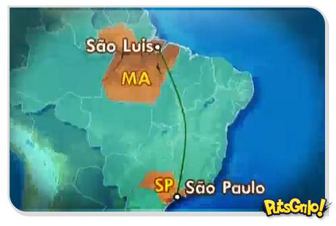 Fail: Globo Esporte erra mapa do Brasil