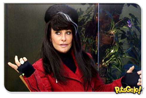 Ana Maria Braga imitando Amy Winehouse: Vergonha alheia total