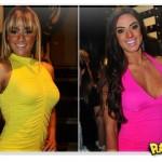 Briga entre Panicats Nicole Bahls e Juliana Salimeni é armação
