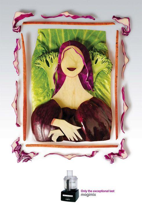 quadros de arte feitos com comida