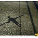 Arte urbana com sombras