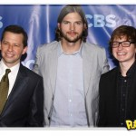 Série Two and a Half Men divulga poster com Ashton Kutcher