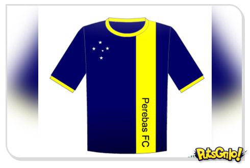 Crie divertidas camisas de futebol com o Camisomatic