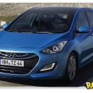 Hyundai i30 aparece em fotos da versão 2012