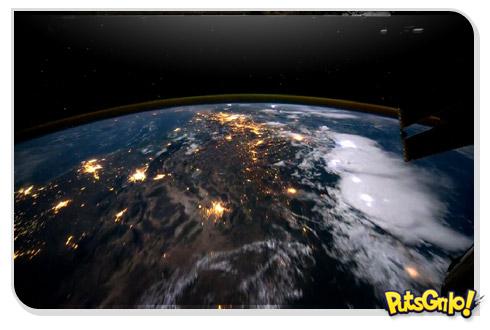 Incrível vídeo da Terra vista da Estação Espacial Internacional