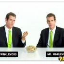 Gêmeos do Facebook em comercial de pistache