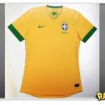Nike revela novo uniforme da Seleção Brasileira para 2012