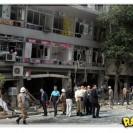 Vídeo da explosão do restaurante no Rio de Janeiro