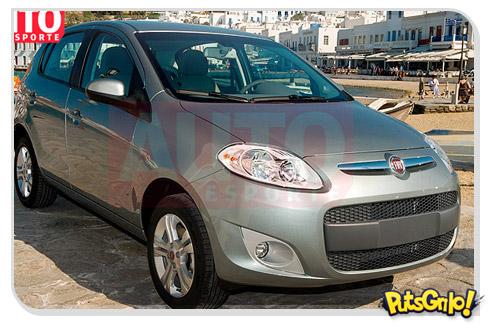 Fiat Palio 2012 divulga primeiras fotos