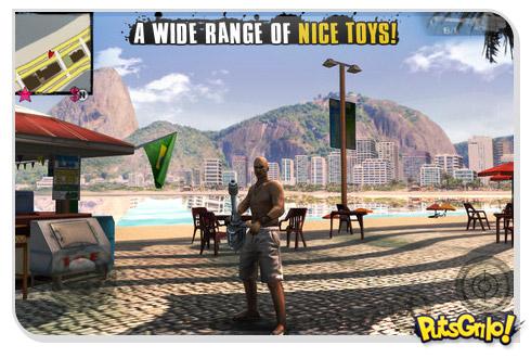Gangsta Rio City of Saints: Jogo estilo GTA para iOS