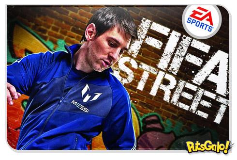 Jogo FIFA Street 2012 tem Messi como garoto propaganda