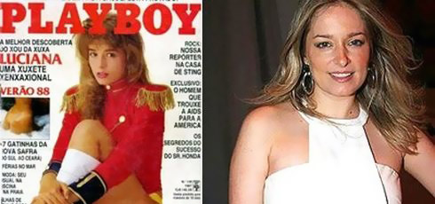 Paquita Luciana Vendramini Playboy