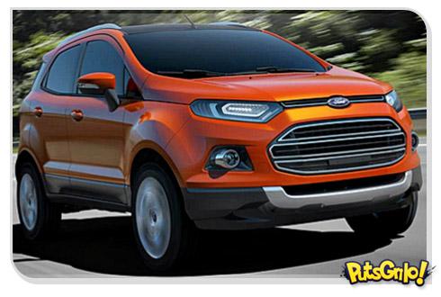 Novo Ford EcoSport 2013: Fotos e vídeo do carro