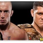 UFC 143: Georges Sain Pierre à espera de Nick Diaz