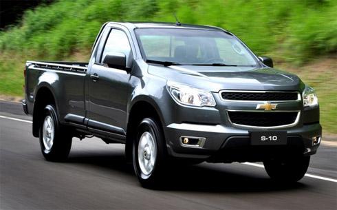 Chevrolet S10 2012 e porque todas querem ser a Hilux