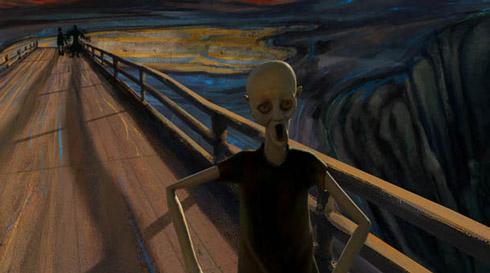 ogrito Quadro O Grito: Versões e releituras de animações à política