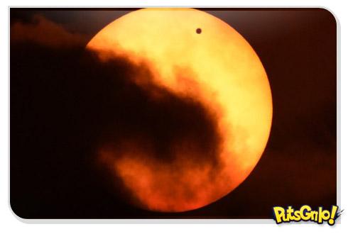 sol venus terra Vídeo Mostra Vênus entre a Terra e o Sol