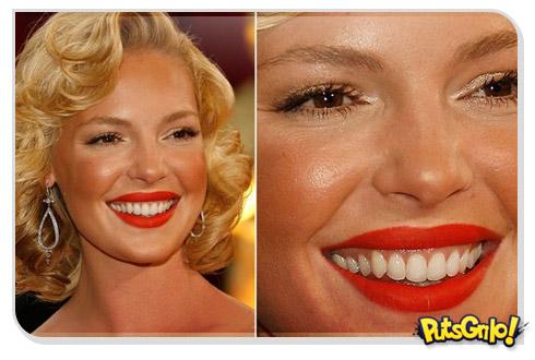 katherine heigl Famosas Maquiagem Fail: Saiba como trollar o próprio rosto