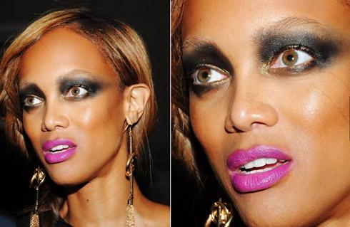 tyra banks Famosas Maquiagem Fail: Saiba como trollar o próprio rosto