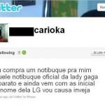 Twitter Carioka LG