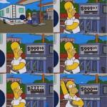 Tirinha Homer Simpson