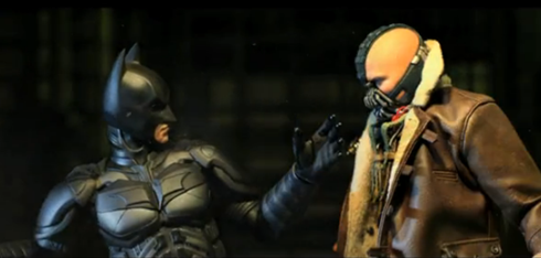 batman the darknight Versão bacana de Batman The Dark Knight Rises em stop motion