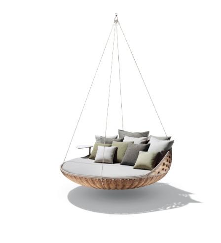 cama susensa Design criativo: móveis ultra modernos aliam conforto e inteligência