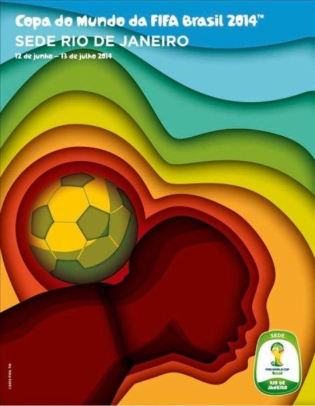 Cartaz Rio de janeiro Brasil 2014: Cartazes das cidades sedes da Copa divulgados