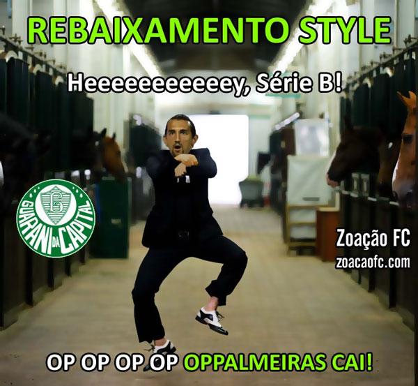 Zoação FC zuando Palmeiras rebaixamento style